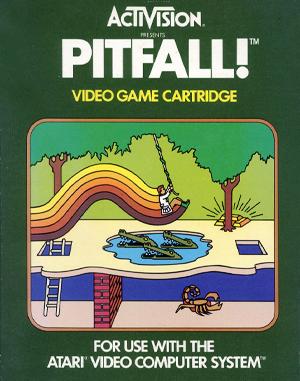 Pitfall! Atari-2600 front cover
