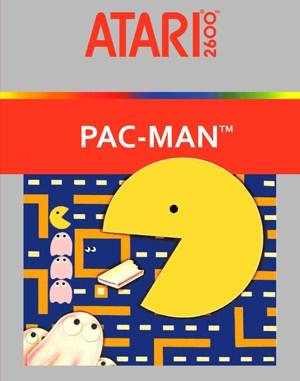 Pac-Man Atari-2600 front cover