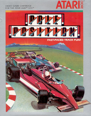 Pole Position Atari-2600 front cover