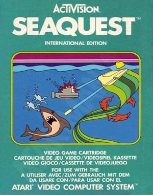 Seaquest Atari-2600 front cover