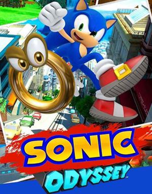 Super Sonic Odyssey Sega Genesis front cover