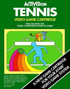 Tennis Atari-2600 front cover
